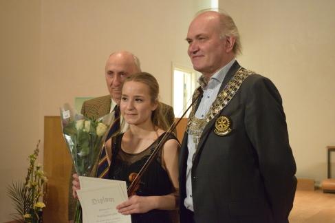 Gunther Motzke, Victoria Lewis og Stig Asmussen