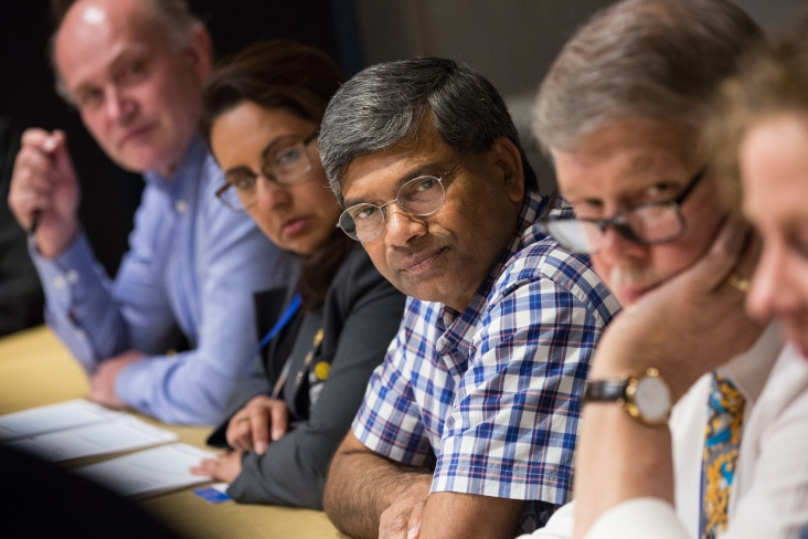 District governors-elect attend a breakout discussion on the future of Rotary at the International Assembly, 16 January 2017, San Diego, California, USA.